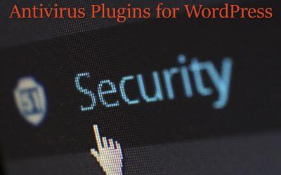 4 Antivirus Plugins for WordPress