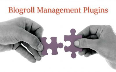 5 Blogroll Management Plugins for WordPress