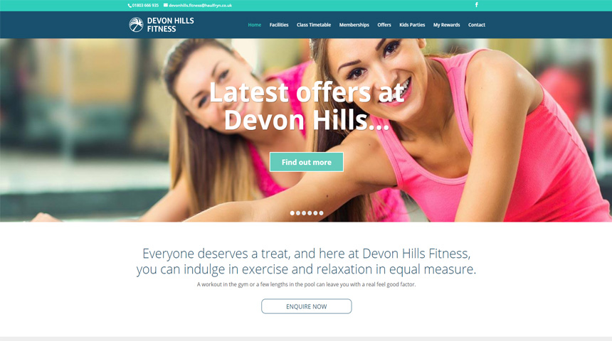 divi fitness examples